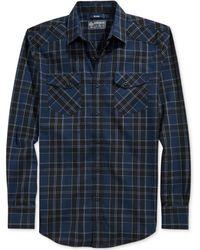 American Rag Cabin Plaid Shirt - Lyst