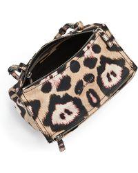 Givenchy   Pandora Mini Jaguar-print Leather Shoulder Bag   Lyst