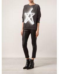 6397 Star Graphic Sweatshirt - Lyst