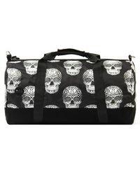 TOPSHOP - Duffel Skulls Bag By Mi-Pac - Lyst