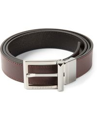 Burberry Textured Belt - Lyst