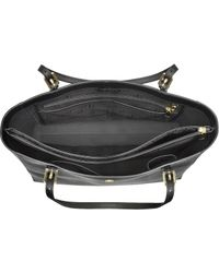 Tory Burch - York Saffiano Leather Buckle Tote - Lyst
