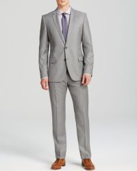 Hugo Boss Hugo Amaro Heise Herringbone Slim Fit Suit Bloomingdales Exclusive - Lyst