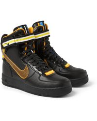 Nike Riccardo Tisci Air Force 1 Hi Leather Sneakers - Lyst