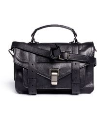 Proenza Schouler Ps1 Tiny Leather Satchel - Lyst
