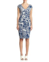 Tory Burch Jersey Dream Catcher Dress - Lyst