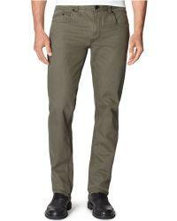 Calvin Klein Jeans Slub Twill Pants - Lyst