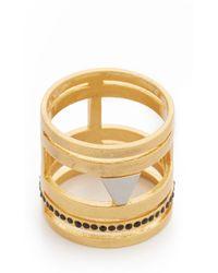Madewell - Flat Stone Ring - Lyst