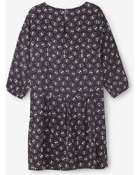 Steven Alan Crossover Shift Dress - Lyst