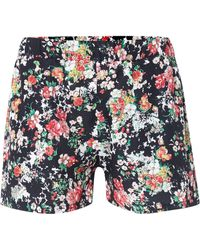 Therapy Mixed Floral Shorts - Lyst
