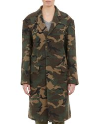 NLST   Camouflage Coat   Lyst