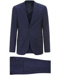 Hardy Amies Brindley Fine Check Suit - Lyst