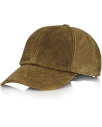 Polo Ralph Lauren Sag Harbor Suede Hat - Lyst