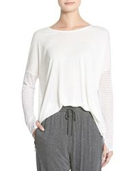 Apres Ramy Brook - 'daley' Long Sleeve Top - Lyst