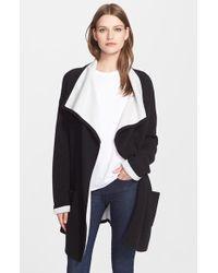 Autumn Cashmere - Double Face Knit Coat - Lyst