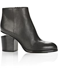 Alexander Wang Gabi Bootie With Rhodium - Lyst
