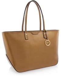 Henri Bendel West 57Th E/W Metallic Tote - Lyst