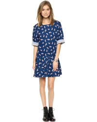 Paul & Joe Sister Arrayne Dress  Blue 31 - Lyst