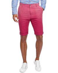 Boss Orange Stimo Shorts  Slim Fit Stretch Cotton Blend Shorts - Lyst