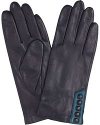 John Lewis - 5 Button Leather Gloves - Lyst
