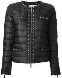 Michael by Michael Kors Black Padded Jacket - Lyst