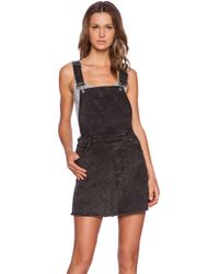 Cheap Monday Embrace Overall Dress - Lyst