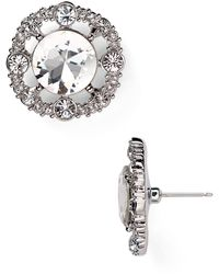 Kate Spade Grand Debut Stud Earrings - Lyst