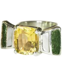 Isabel Englebert - Art Deco Ring - Lyst