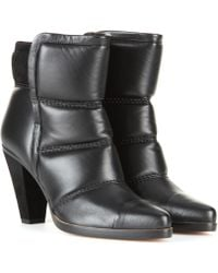 Chloé Leather Ankle Boots - Lyst