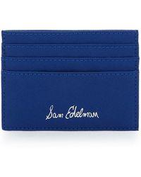 Sam Edelman - Faux Leather Credit Card Case - Lyst
