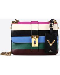 Valentino Chain Shoulder Bag multicolor - Lyst