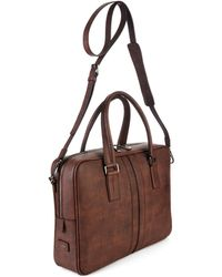 Tod's | Grained Leather Briefcase | Lyst