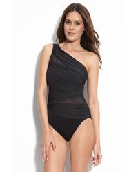 Miraclesuit Jena One-Piece Swimsuit - Lyst