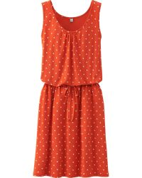 Uniqlo Women Printed Sleeveless Dress - Lyst