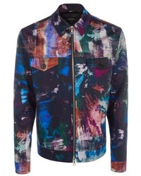 Paul Smith 'Backing Cloth' Print Western Jacket multicolor - Lyst