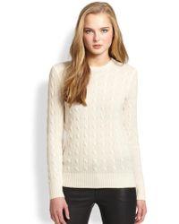 Polo Ralph Lauren Cashmere Crewneck Sweater - Lyst