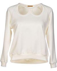 Peter Jensen Sweatshirt white - Lyst
