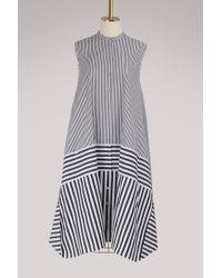 Ports 1961 - Sleeveless Cotton Dress - Lyst