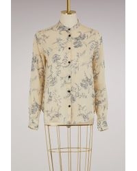 Forte Forte - Printed Cotton Shirt - Lyst