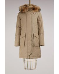 Woolrich - Racoon Military Parka - Lyst