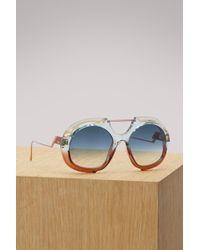 Fendi - Tropic Shine Sunglasses - Lyst