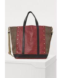 Vanessa Bruno - Big Leather Tote Bag - Lyst