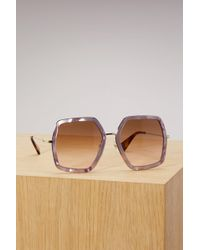 Gucci - Oversize Square-frame Sunglasses - Lyst