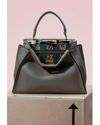 Fendi - Peekaboo Shoulder Bag  - Lyst