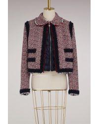 Moncler Gamme Rouge - Aberdeen Wool Jacket - Lyst