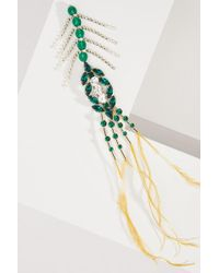 Dries Van Noten - Crystals And Feathers Brooch - Lyst