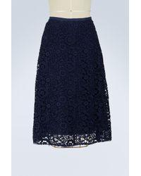 Miu Miu - Macramé Skirt - Lyst