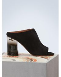 093491d66f21 Lyst - Givenchy Cutout Peep-toe Pumps in Black