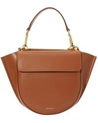 Wandler Hortensia Mini Hand Bag - Brown