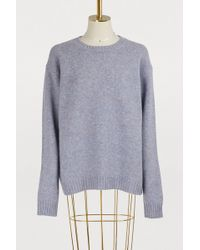 Acne Studios - Samara Wool Sweater - Lyst